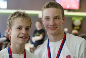 Matthias en Stijn