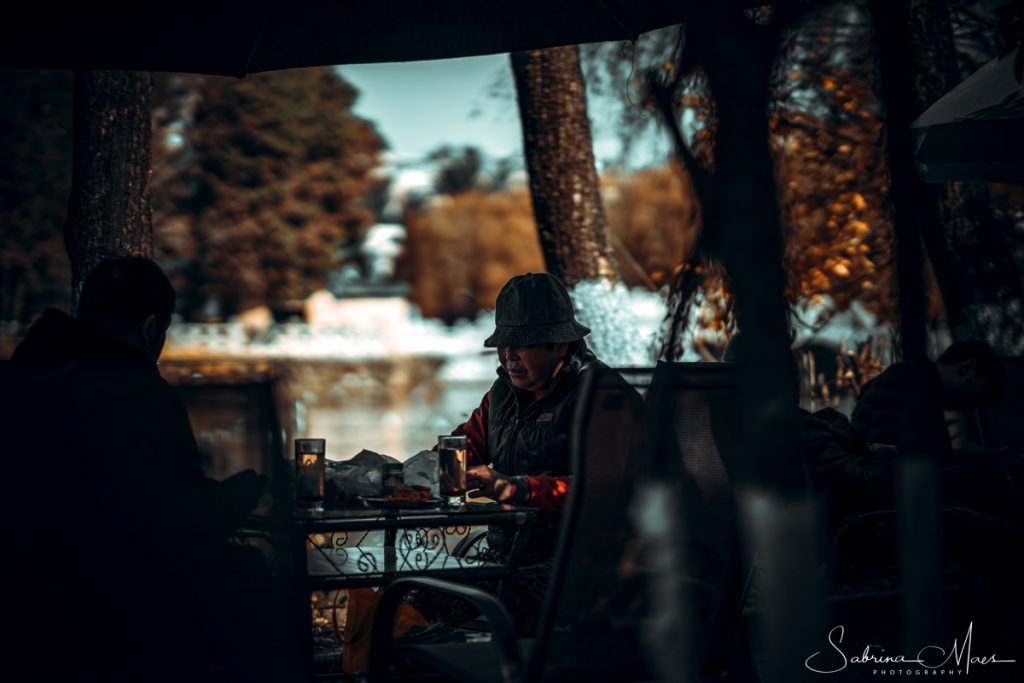 ©Sabrina Maes, Green Lake, Kunming Teehuis