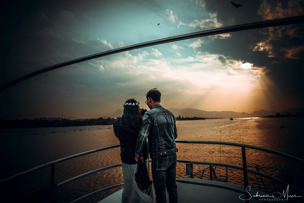 ©Sabrina Maes, Dalian Lake, Sleeping Lady