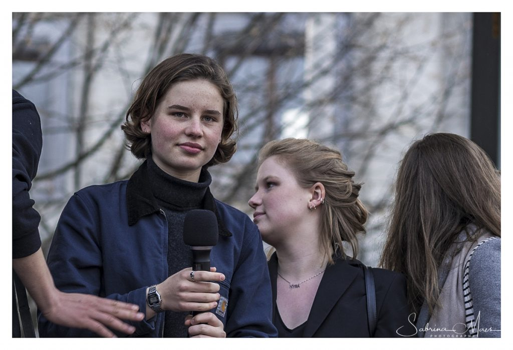 Youth For Climate, Anuna De Wever en Greta Thunberg