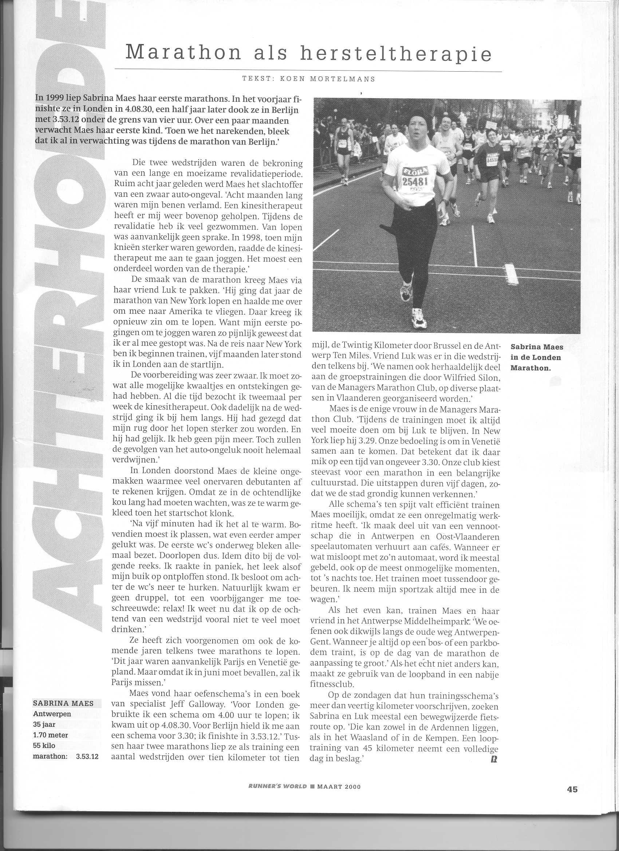 Artikel runnersworld