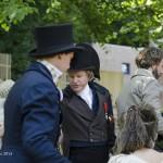 Keizer Napoleon op bezoek