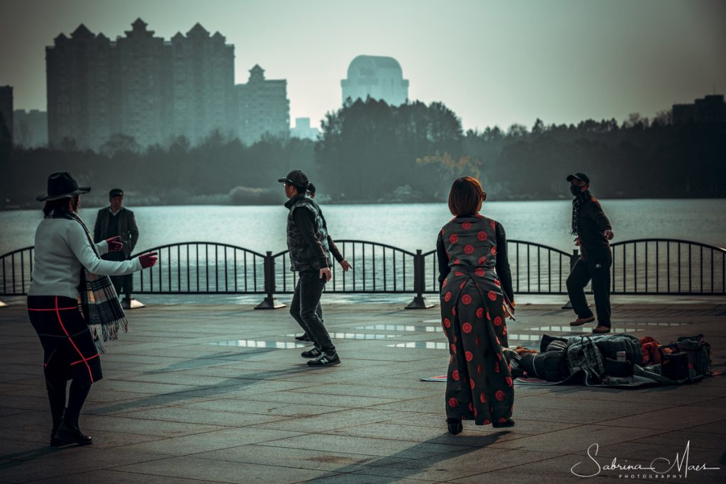 ©Sabrina Maes, We dansten iin Shanghai
