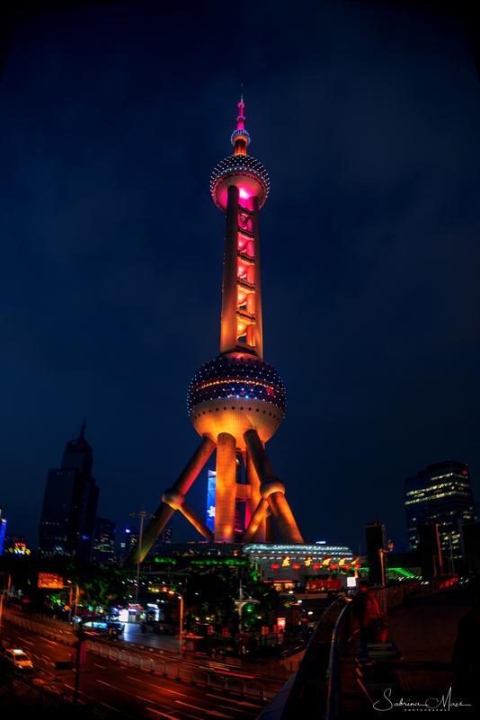 ©Sabrina Maes, Shanghai Pearl Tower