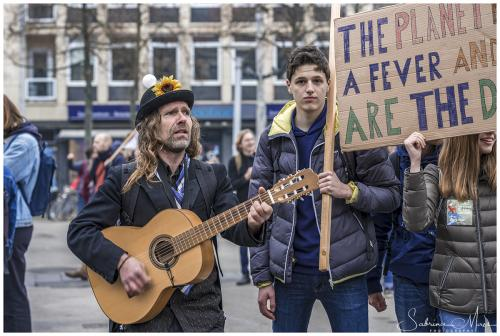 Youth For Climate, Anuna De Wever en Greta Thunberg